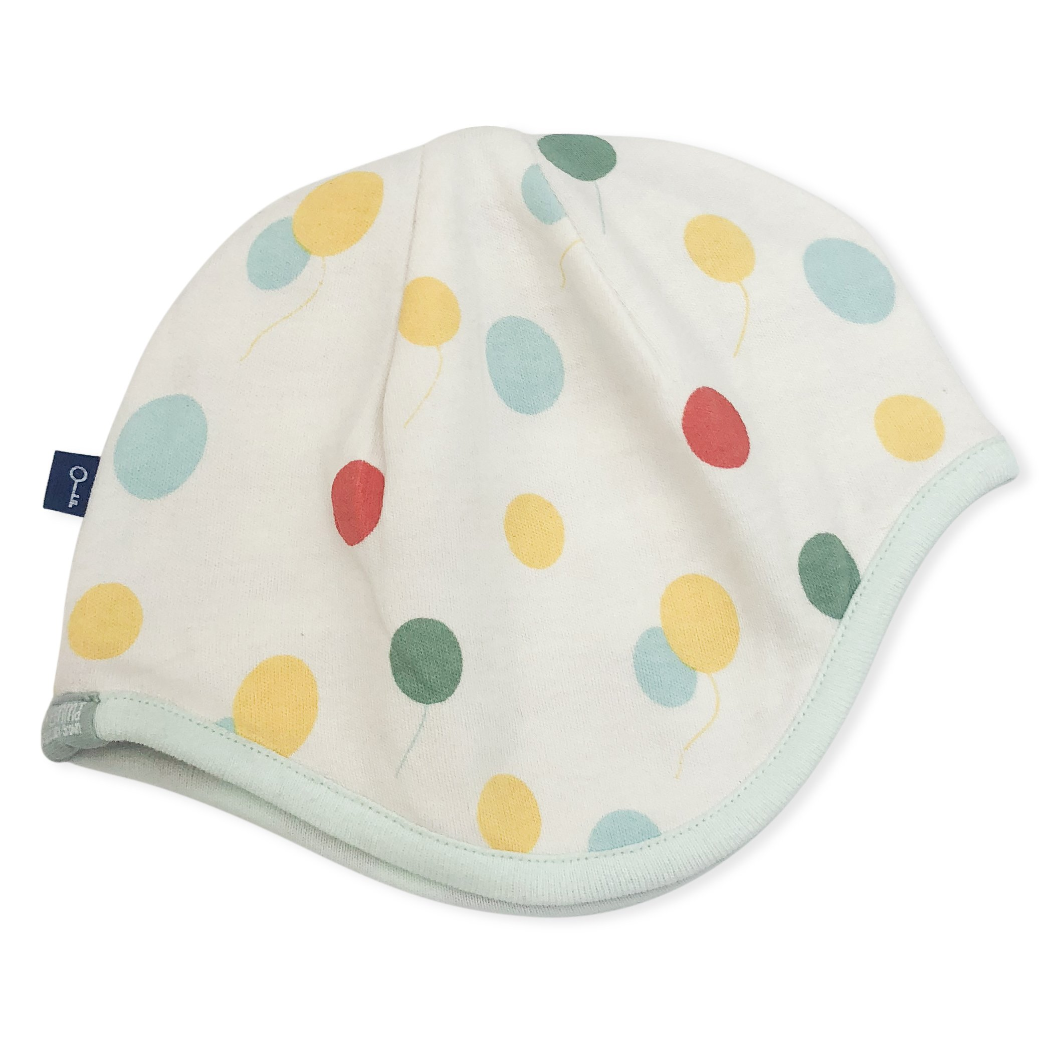 Finn Emma Organic Cotton Cap Reversible Balloons Red White
